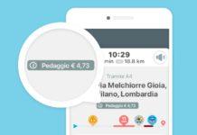 La funzione Costo Pedaggio di Waze è disponibile in Italia