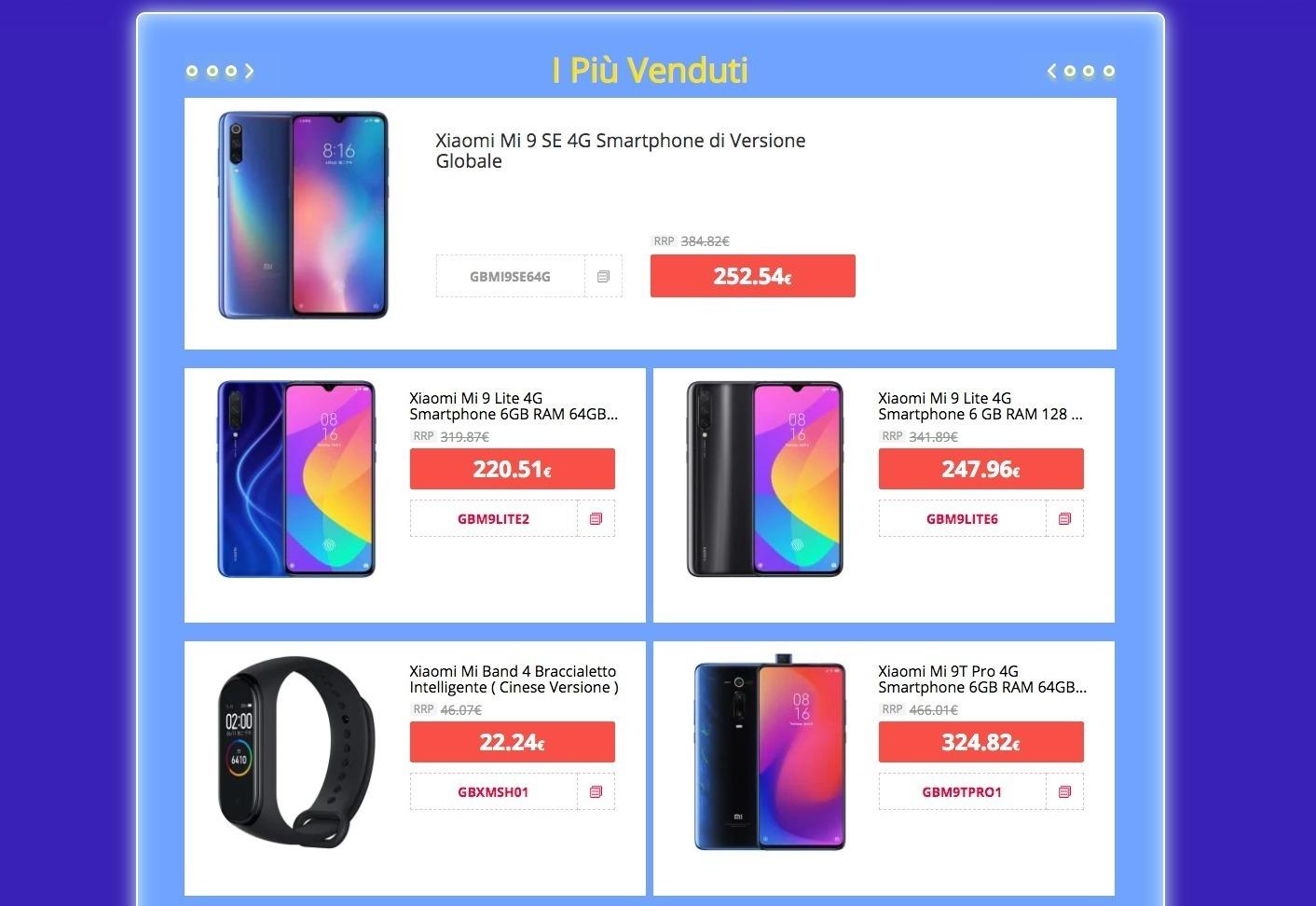 48 prodotti Xiaomi in super sconto: ecco tutte le offerte da non perdere