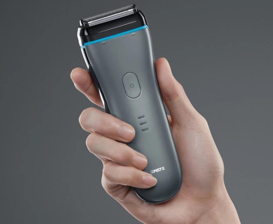Xiaomi Smate, il rasoio elettrico a 3 lame con testina magnetica flottante in offerta
