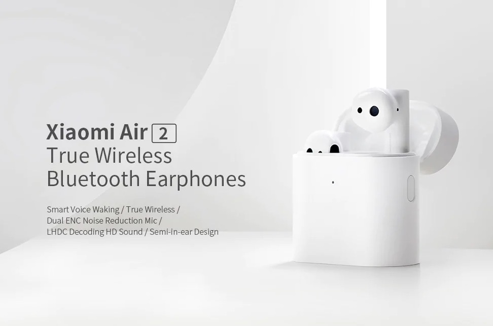 In sconto Xiaomi TWSEJ02JY Air 2, gli auricolari binaurali