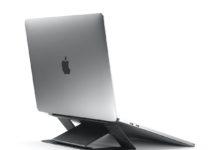 Aiino PopUp: lo stand per Apple e PC che sparisce sotto il portatile