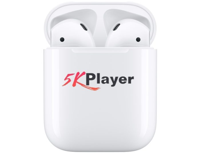 Vinci la Apple AirPods: scarica gratis il lettore video 5KPlayer per Mac o PC