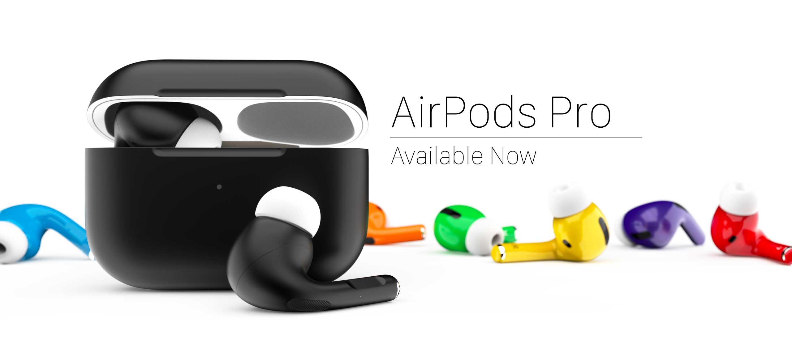 ColorWare propone gli AirPods Pro verniciati in tanti colori diversi