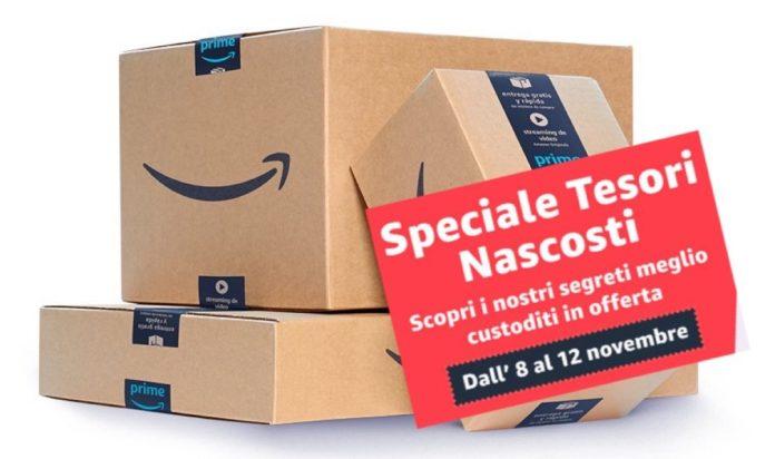 Amazon Tesori Nascosti, sconti fino al 53% su prodotti di grandi marchi