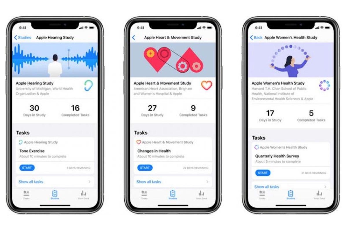 Ricerca Per Immagini Mobile apple lancia la sua app per la ricerca sulla salute delle