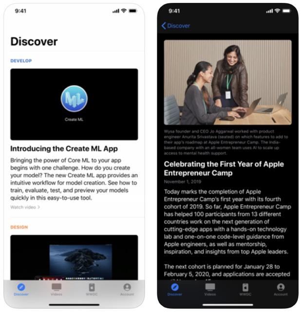 Apple Developer ed è sempre aggiornata