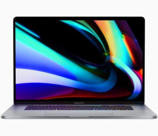 Apple lancia MacBook Pro 16 pollici, fino all'80% più veloce e con Magic Keyboard
