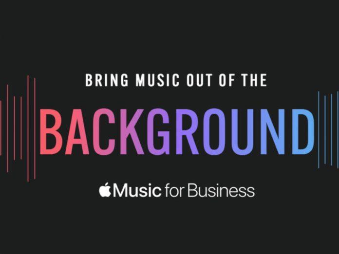 Apple Music for Business vuole invadere i negozi al dettaglio
