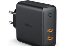 Recensione Aukey 60W Dual USB-C, l'alimentatore geniale per ricaricare Mac e iPhone insieme
