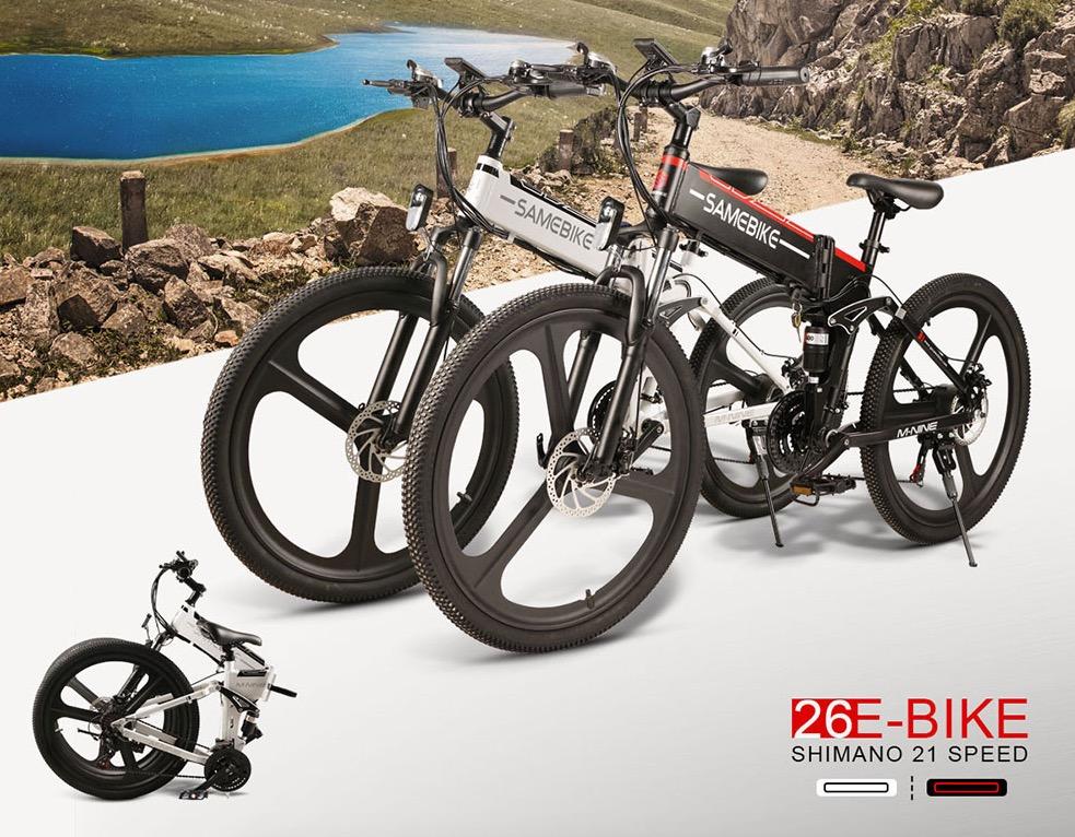 Le migliori 5 e-bike da acquistare su Gearbest