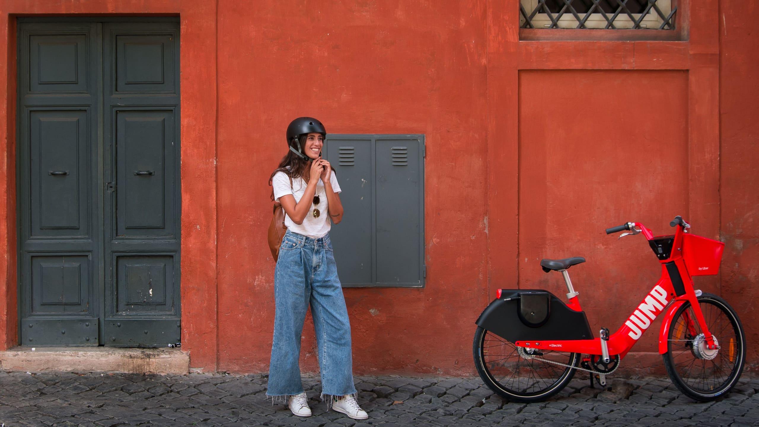Jump by Uber permette al Comune di Roma di conoscere e risolvere problematiche relative al servizio di bike sharing