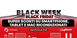 Speciale Black Friday TrenDevice: iPhone 8 da 324,90€ e iPhone Xs da 619,90€. Fino a esaurimento scorte