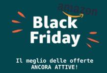 Black Friday Amazon, sconti fino al 64%: LG, Garmin, PS4, Huawei, Asus, Samsung, UE