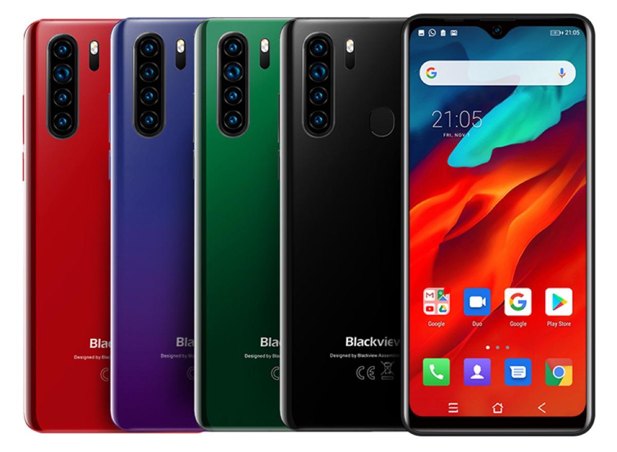 Blackview A80 Pro, lo smartphone con quattro fotocamere arriva il 18 novembre