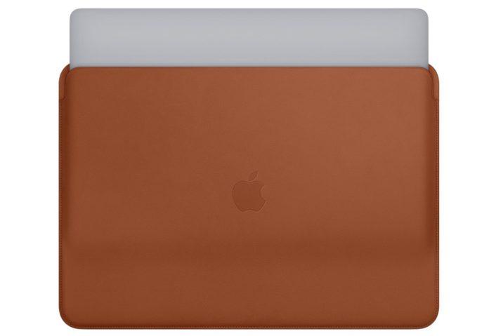 Custodia in pelle Apple per MacBook Pro: sconto fino al 55%