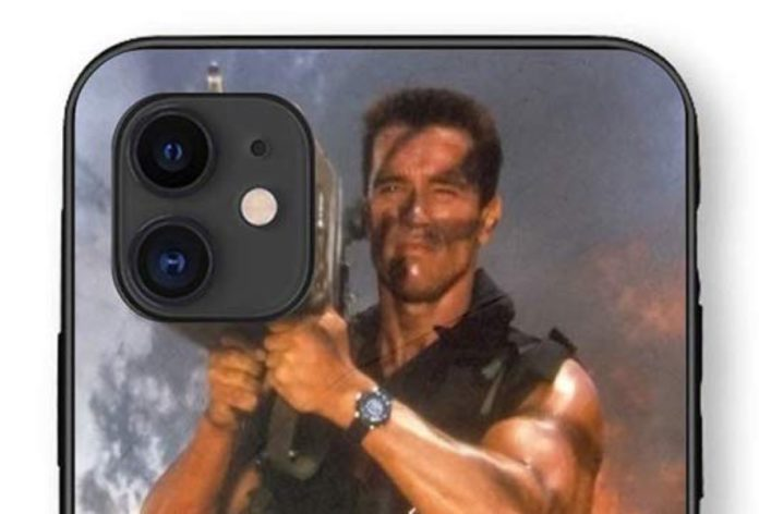 Ora potete comprare la cover che trasforma le fotocamere di iPhone 11 Pro nel lanciamissili di Schwarzenegger