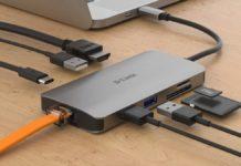 D-Link presenta la nuova linea di hub e adattatori USB-C