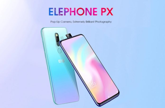 Elephone PX, in super sconto lo smartphone low cost con la camera pop up