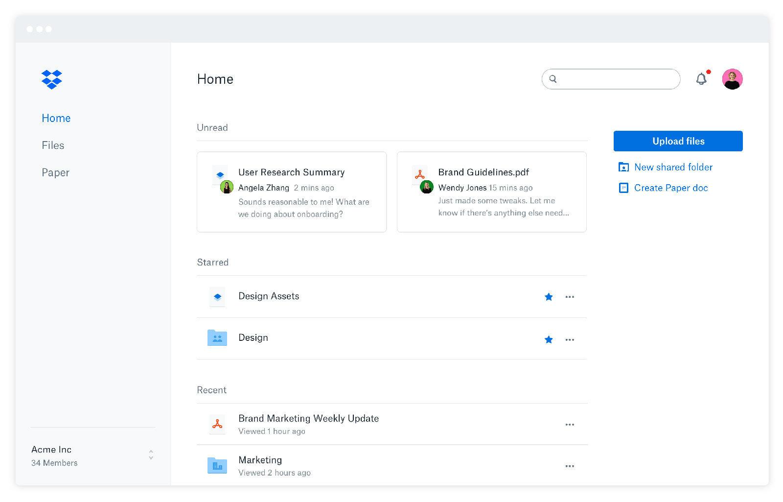 Dropbox aggiunge estensioni per Gmail, WhatsApp, Vimeo e altre