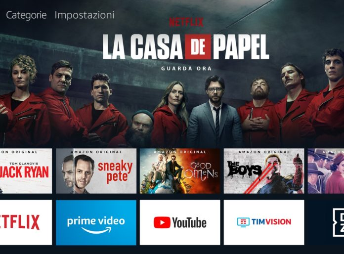 Con Amazon Fire TV l'app di Netflix si controlla con la voce