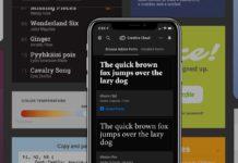 I font Adobe ora disponibili con iOS 13 con le app della Creative Cloud e non solo
