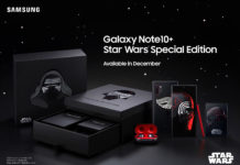 Samsung ha realizzato un Galaxy Note 10+ per i fan di Star Wars