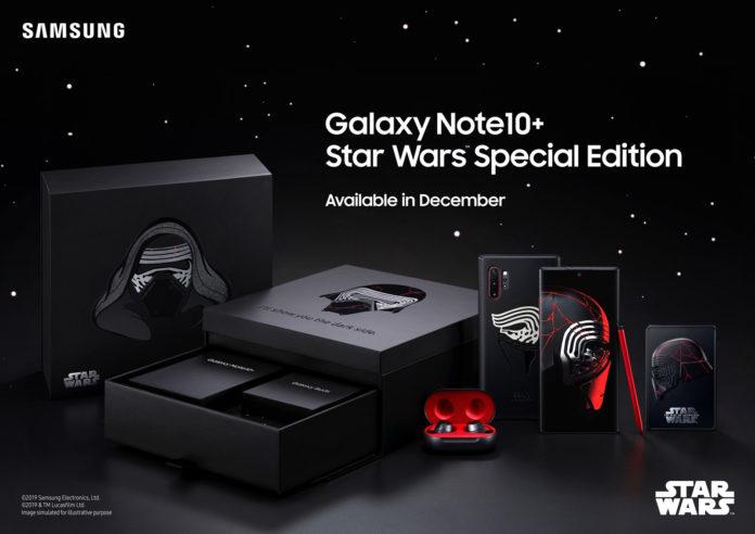 Samsung ha realizzato un Galaxy Note 10+ per i fan di Star Wars