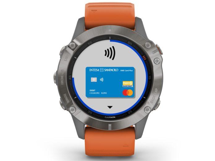 Garmin Pay ora funziona con Intesa San Paolo