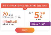 Con Ho Mobile, SIM e attivazione a soli 3,99 euro