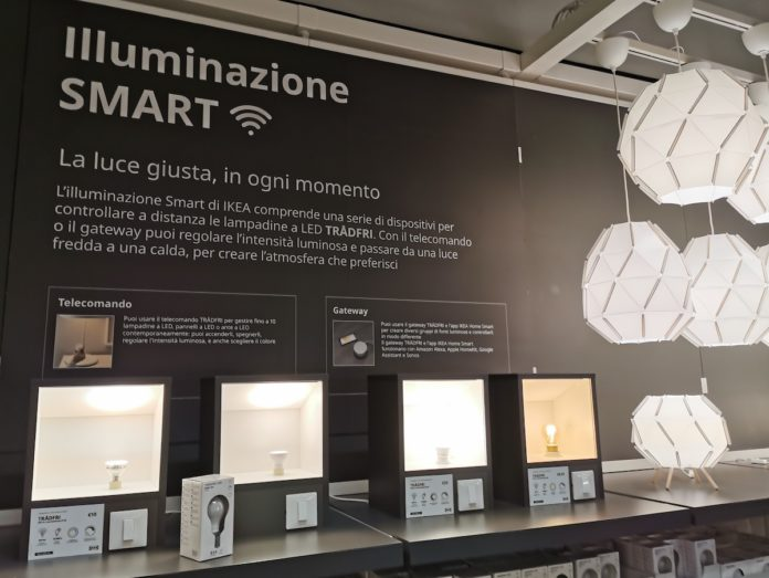 Nuovi Kit Smart Home Ikea portano lampade e gateway Zigbee a collaborare con Alexa, Homekit e Google