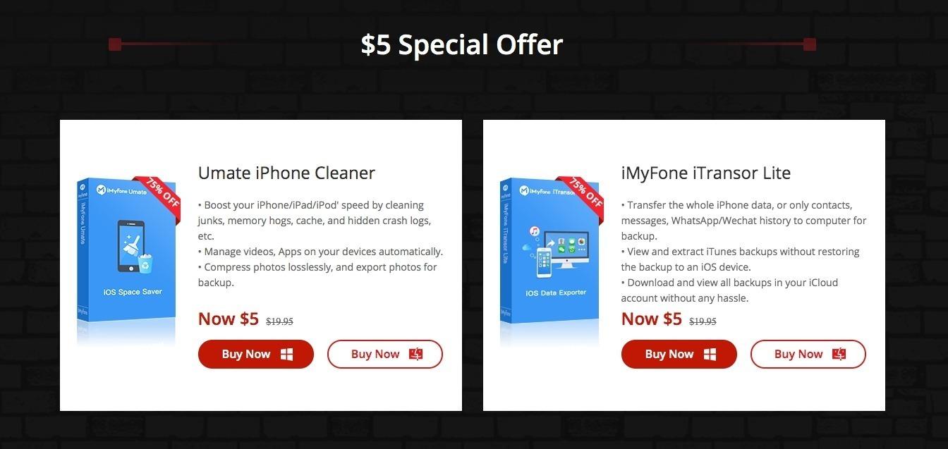 Black Friday iMyFone: in sconto del 90% software indispensabili per il tuo iPhone