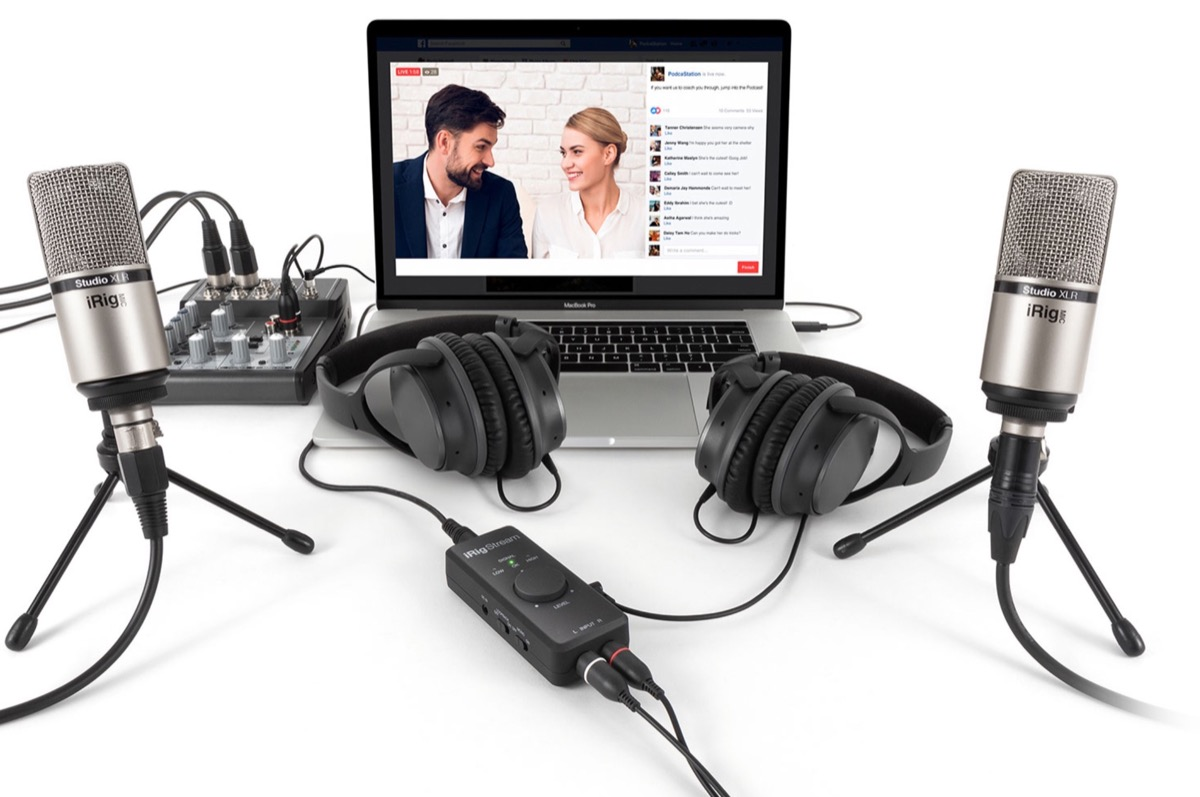 iRig Stream, è in vendita l'interfaccia audio per lo streaming di IK Multimedia
