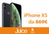 Juice taglia i prezzi di iPhone XS a partire da 869 euro