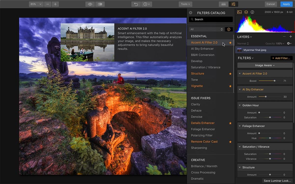 Luminar Flex Plugin a soli 4 dollari per ritoccare le foto come dei Pro