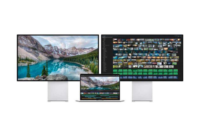 Il MacBook Pro da 16″ è in grado di gestire due Apple Pro Display XDR