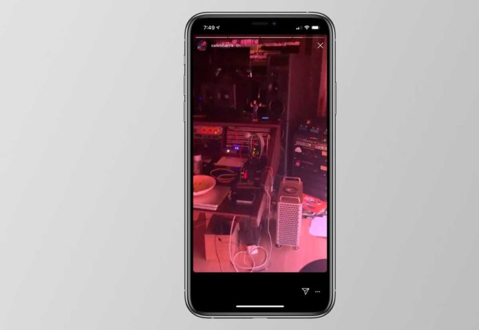 Il Mac Pro 2019 nello studio di DJ Calvin prima del lancio ufficiale
