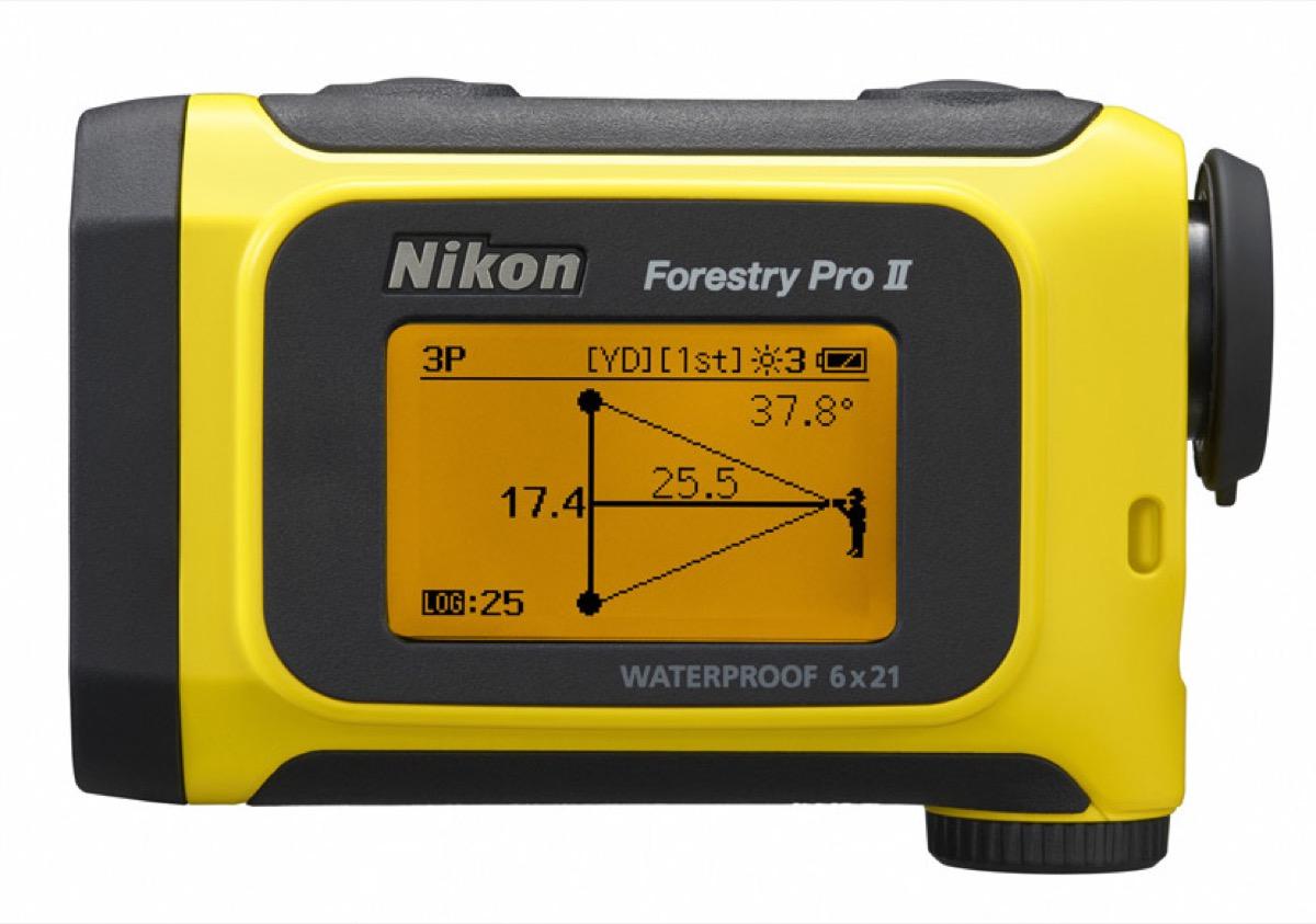Nikon Forestry Pro II, il telemetro laser è ancora più potente