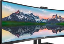 Philips 439P9H SuperWide è un nuovo monitor curvo con USB-C