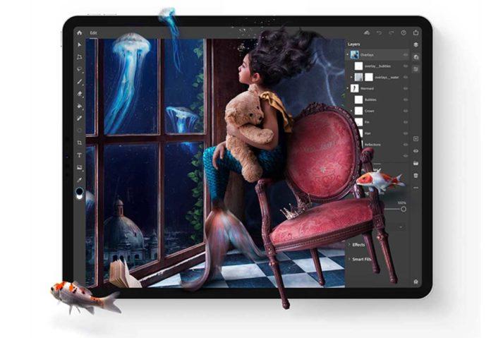 Adobe promette nuova funzionalità in arrivo in Photoshop per iPad