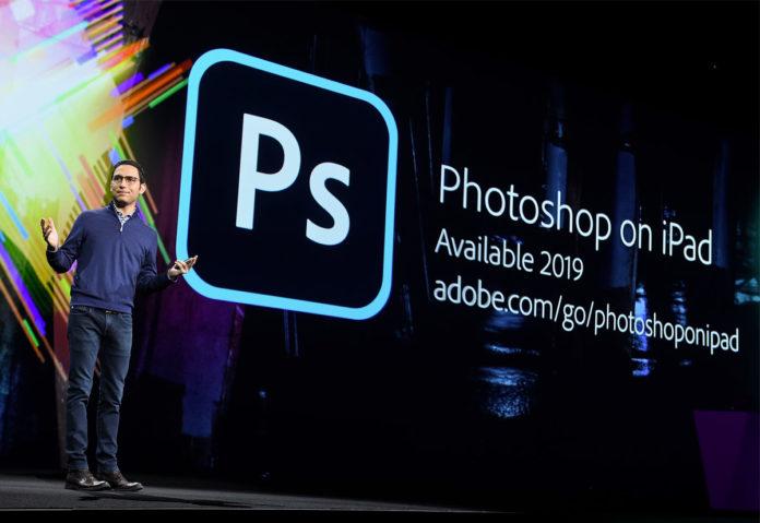 Adobe Photoshop per iPad disponibile e altre novità dalla conferenza Adobe MAX 2019