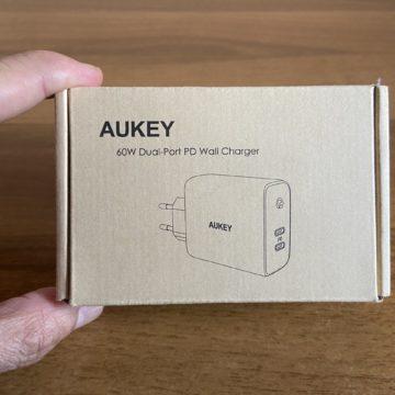 recensione aukey 60w dual usb c 1