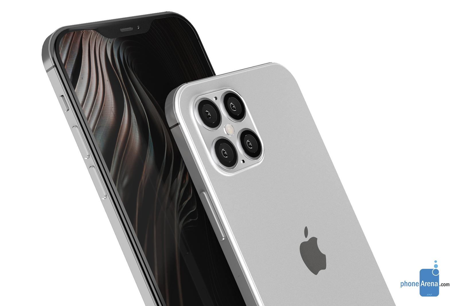 Nei render iPhone 12 con quattro fotocamere ha il notch più piccolo