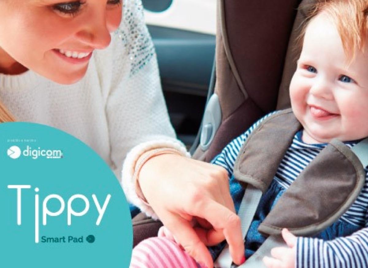 Recensione Tippy Pad, il seggiolino per bambini antiabbandono di Digicom