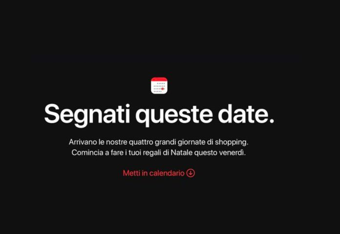 Per il Black Friday quest'anno niente carte regalo iTunes di Apple?