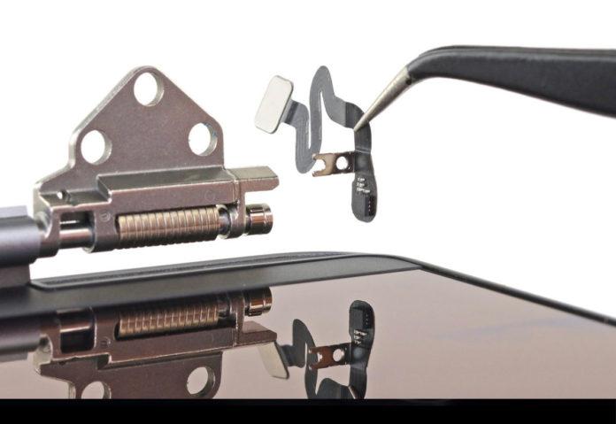 Nel MacBook Pro da 16″ è presente un nuovo sensore di chiusura del coperchio