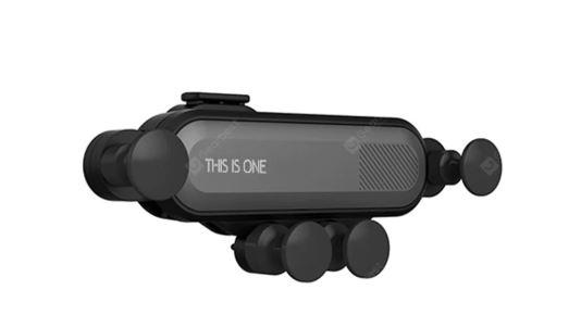 Minismile YT01, l'ingegnoso supporto smartphone per auto costa adesso meno di 3 euro