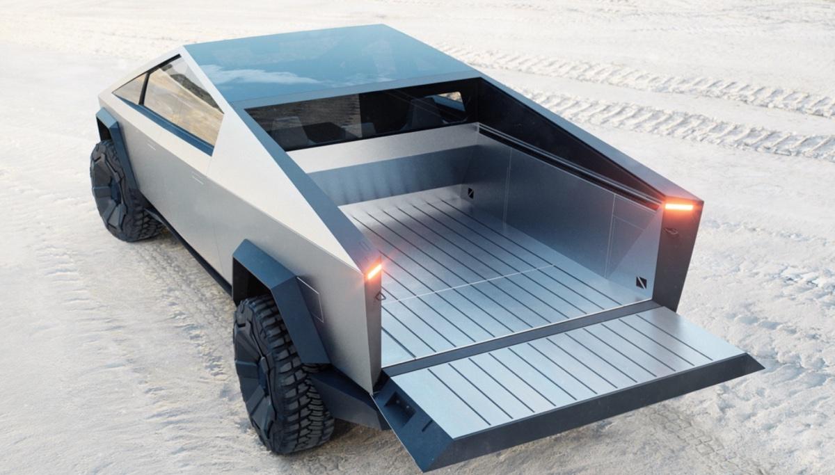 La nuova Tesla Cybertruck è estremamente simile alle auto dei giochi PS1