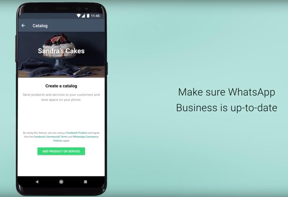 WhatsApp permette di consultare cataloghi prodotti dentro l'app