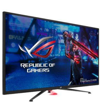 Asus XG438Q, anche in Italia il grande monitor 4K da 43″ dedicato al gaming e ai film