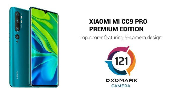 Xiaomi Mi CC9 Pro Premium Edition, per DxOMark è uno dei migliori camera phone